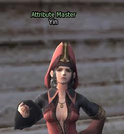 Attribute Master NPC